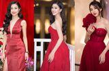 Tin tức - Hoa hậu Tiểu Vy cùng dàn mỹ nhân đọ dáng trong sắc đỏ