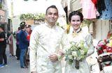 Tin tức - Võ Hạ Trâm xinh đẹp rạng ngời trong hôn lễ với doanh nhân Ấn Độ