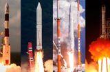 Tin thế giới - Những cuộc chạy đua vũ trụ ở châu Á