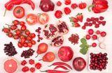 Thực phẩm - Lợi ích sức khỏe từ những loại trái cây, rau củ màu đỏ