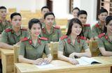 Tuyển sinh - Du học - Năm 2019 dự kiến chỉ có 3 trường công an nhân dân tuyển sinh