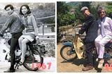 """Cộng đồng mạng - Bức ảnh """"ngày ấy – bây giờ"""" của cặp vợ chồng già khiến nhiều người ngưỡng mộ"""