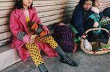 """Cộng đồng mạng - Cô bé vô gia cư xinh xắn ở Hà Nội tự phối đồ """"cực chất"""" từ quần áo cũ"""
