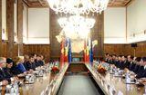 Tin trong nước - Thủ tướng Nguyễn Xuân Phúc hội đàm với Thủ tướng Romania