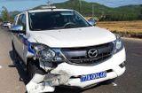 Tin trong nước - Tin tai nạn giao thông mới nhất ngày 17/4/2019: Xe máy va chạm xe CSGT đi tuần, một người tử vong