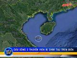 Bản Tin 113 - Video:  Cứu sống 3 thuyền viên bị chìm tàu trên biển