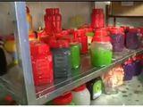 Phát hiện cơ sở sản xuất hạt trân châu siêu bẩn trong xưởng gạch