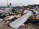 Video-Hot - Lốc xoáy kinh hoàng quật đổ hàng loạt ngôi nhà tại Bắc Ninh