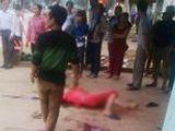 Video-Hot - Nghi vợ ngoại tình, chồng đâm chết vợ rồi cố thủ trong nhà