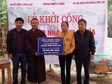 Báo ĐS&PL phối hợp xây dựng thêm nhà tình nghĩa tại Hà Tĩnh