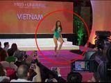 Video-Hot - Lệ Hằng bình tĩnh xử lý sự cố tại Miss Universe 2016