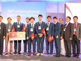 Đội tuyển Việt Nam đoạt 4 huy chương vàng Olympic Toán quốc tế