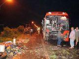 Tai nạn liên hoàn, phụ xe tử vong, hàng chục người bị thương