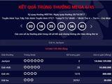 Kết quả xổ số Vietlott hôm nay 20/10: Giải Jackpot hơn 14 tỷ đồng không có chủ