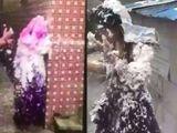 Trò đùa quá trớn của phù rể đối với phù dâu ở đám cưới