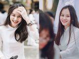 Nữ sinh Hà Nội được tìm kiếm nhiều nhất mùa bế giảng vì mặc áo dài quá xinh đẹp