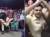 Video: Nam cảnh sát giả vờ ngủ gật để sàm sỡ phụ nữ bị