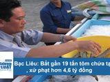 Tin tức - Bạc Liêu: Bắt gần 19 tấn tôm chứa tạp chất, xử phạt hơn 4,6 tỷ đồng