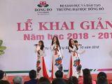 Công ty TNHH Điện tử Việt Nhật kết hợp với ĐH Đông Đô tạo môi trường thực tập chuyên nghiệp cho sinh viên tại công ty