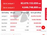 Kết quả xổ số Vietlott hôm nay 13/10/2018: Bộ số kỳ lạ trúng Jackpot hơn 82 tỷ