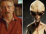 Cựu đặc vụ Mỹ tuyên bố từng phát hiện người ngoài hành tinh cao 1,2 mét