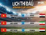 Những thông tin quan trọng về Asian Cup 2019: Sau 10 năm Việt Nam mới lại được tham dự