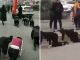 Tin tức - Công ty Trung Quốc phạt nữ nhân viên bò trên đường gây phẫn nộ