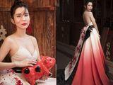 Huỳnh Vy diện váy đậm chất Á Đông đón Tết rực rỡ