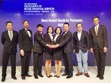 Hoạt động ngân hàng bán lẻ: BIDV được vinh danh trên thị trường quốc tế
