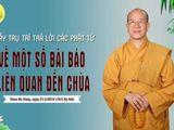 """Phỏng vấn các """"nhân chứng"""" xuất hiện trong buổi livestream tại chùa Ba Vàng"""
