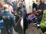 Nghi án nổ súng, cướp tiền ở chợ Long Biên: Thủ phạm đánh rơi 1 bọc tiền trong lúc trốn chạy?