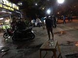 Côn đồ đất Cảng hỗn chiến trong đêm, 4 thanh niên nhập viện