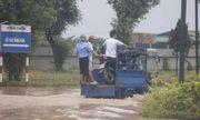Clip: Nơi ngập sâu nhất Hà Nội, 2 ngày nước chưa rút