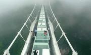 Chiêm ngưỡng cây cầu kính cao, dài nhất thế giới