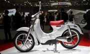 Honda giới thiệu mẫu xe scooter chạy điện