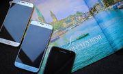 Trình làng Galaxy J7 Pro camera khẩu lớn như S8, màu xanh ánh bạc