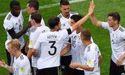 Nhọc nhằn đánh bại Úc, Đức có 3 điểm ngày ra quân