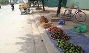 Hà Nội đặt mục tiêu năm 2018 không còn hàng rong bán trái cây vỉa hè