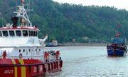 Cứu thành công 19 thuyền viên gặp nạn trên vùng biển Vịnh Bắc Bộ
