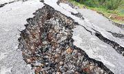 Con đường được đầu tư 68 tỷ ở Nghệ An chưa bàn giao đã đổ sập