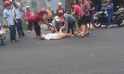 Vận động viên Pencak silat bị trúng đạn khi đi ngang qua chợ