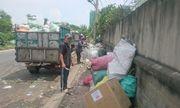 """Dân """"kêu trời"""" vì bãi tập kết rác gây ô nhiễm"""