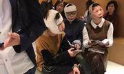 Sự thật phía sau bức ảnh 3 cô gái sang Hàn