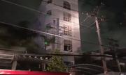 Cháy quán karaoke ở Sài Gòn, 25 người mắc kẹt