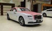 """Ngắm Rolls-Royce Wraith phiên bản Barbie hồng """"độc nhất vô nhị"""" ở Abu Dhabi"""