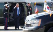 Tổng thống Trump đến Hàn Quốc giữa bối cảnh căng thẳng với Triều Tiên