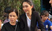 Miss Intercontinental Vietnam 2017 Tường Linh về Phú Yên cứu trợ bà con vùng bão