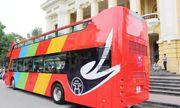 Hứng thú với lộ trình tuyến xe buýt 2 tầng City Tour phục vụ du lịch Hà Nội