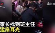 Thầy giáo đánh học sinh bị nữ phụ huynh trả thù giữa phố