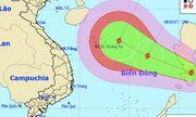 Biển Đông tiếp tục hứng bão số 13